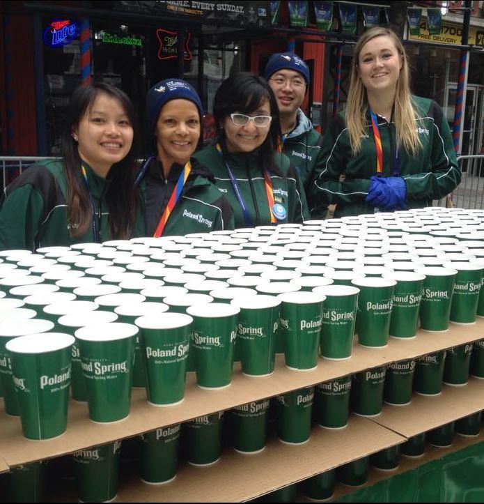 volunteer cups